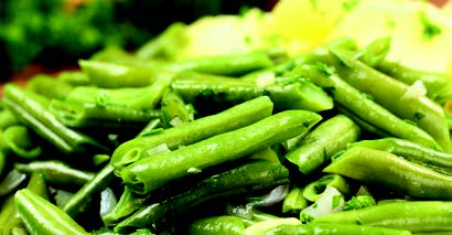 Golden Glow Buffet Menu Green Beans
