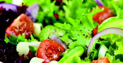 Golden Glow Buffet Menu Salad