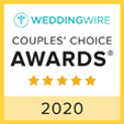 Wedding Wire Couples Choice Awards 2018 for the Golden Glow Ballroom